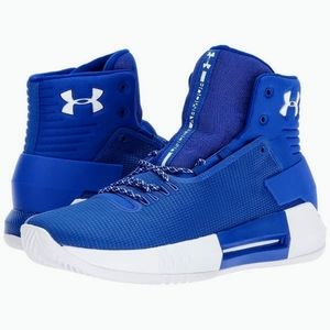 """Boy's """"Under Armour"""" Drive 4 Basketball Sneakers"""